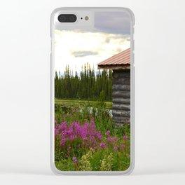Pioneer Cabin II - Alaska Clear iPhone Case