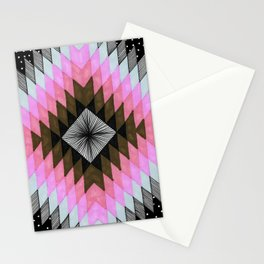 Cosmic Eye - Fire Opal Stationery Cards