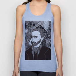 Vincent Rocks Unisex Tank Top