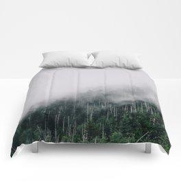 Misty Great Smoky National Park  Comforters