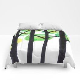 blacks trees Comforters