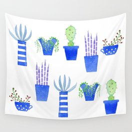 Succulents Wall Tapestry