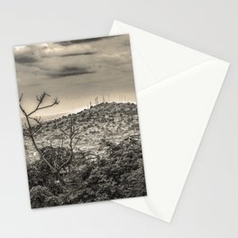 Guayaquil Outskirts Aerial View from Botanical Garden Stationery Cards