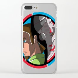 Kanan Vs The Inquisitor T-Shirt Clear iPhone Case