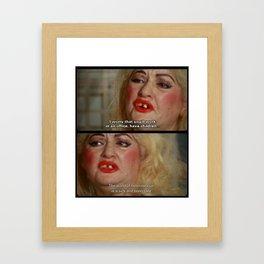 Heterosexual Framed Art Print