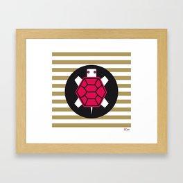 Kame - Lucky signs serie Framed Art Print