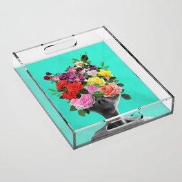 Alien Bouquet  Acrylic Tray