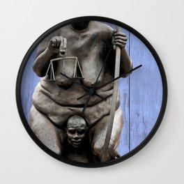 Justicia Wall Clock