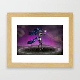 Circle of Power Framed Art Print
