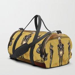 Horus Egyptian deities. Duffle Bag