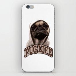 Pug Life iPhone Skin