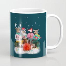 Fireside Christmas by Andrea Lauren  Coffee Mug