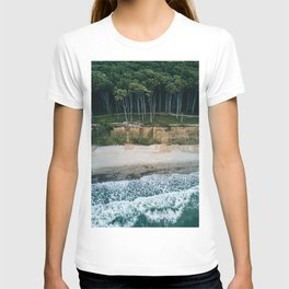 Waves, Woods, Wind and Water - Landscape Photography T-shirt