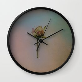 Once Upon a Time a Dancer Rose Wall Clock
