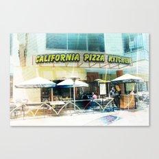 California pizza dreaming Canvas Print