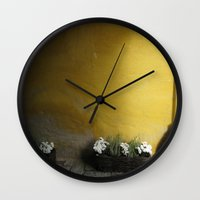 sweden Wall Clocks featuring Simply Sweden by Melia Metikos