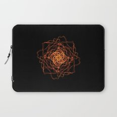Fire Rose Laptop Sleeve