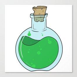 Green Potion Canvas Print