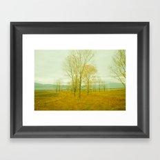 Yellow Morning Framed Art Print