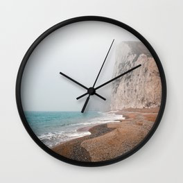 Dreary Beach Wall Clock
