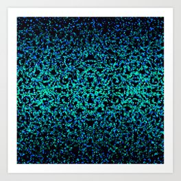 Glitter Graphic G180 Art Print