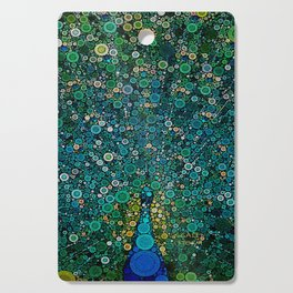 :: Peacock Caper :: Cutting Board