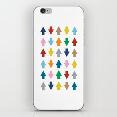 Arrows Up and Down iPhone & iPod Skin