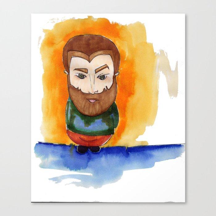 Redbeard Canvas Print