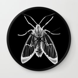 Wasp Moth II Wall Clock