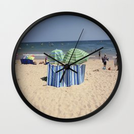Twin Umbrella's and the Sun! Wall Clock