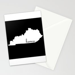 Kentucky State Map Home Gifts Stationery Cards