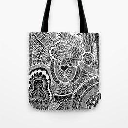 Love Doodle Tote Bag