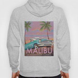 Malibu Los Angeles California Hoody