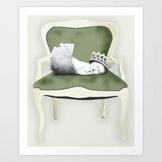 Baby Princess Art Print
