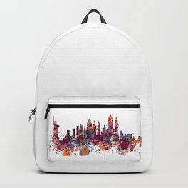 New York Skyline Silhouette Backpack