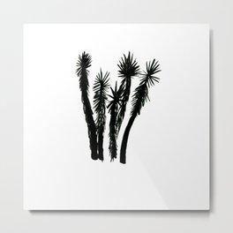 A family of Palms Metal Print