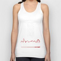 gangster Tank Tops featuring American gangster by Christophe Chiozzi