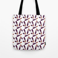 lipstick Tote Bags featuring Lipstick  by Kate & Oleg