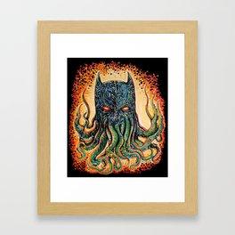 Bat Cthulhu Framed Art Print