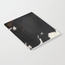 Cowhide Farmhouse Decor Notebook