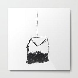 Tea Bag Metal Print
