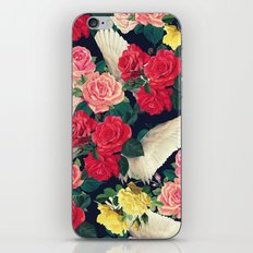 roses wings, tropical  iPhone & iPod Skin