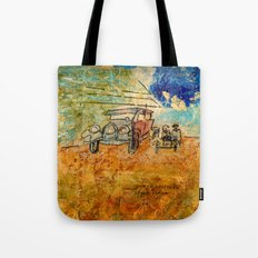 WHEN THE DUST SETTLES Tote Bag