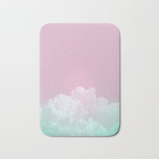 Dreamy Candy Sky Bath Mat