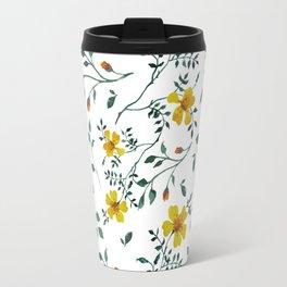Little yellow flowers Travel Mug