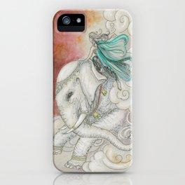 Climbing Ganesha iPhone Case