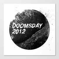 Doomsday 2012 Canvas Print