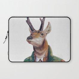 Pronghorn Deer Laptop Sleeve