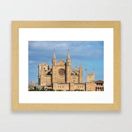 Cathedral of Palma de Mallorca Framed Art Print