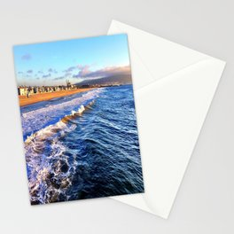 """Hermosa Beach """"On the Pier 2"""" Stationery Cards"""